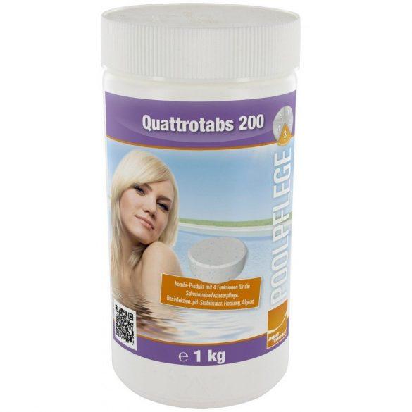 Aquacorrect Quattrotabs (200 gr) 1kg, 4in1 multi tabletta