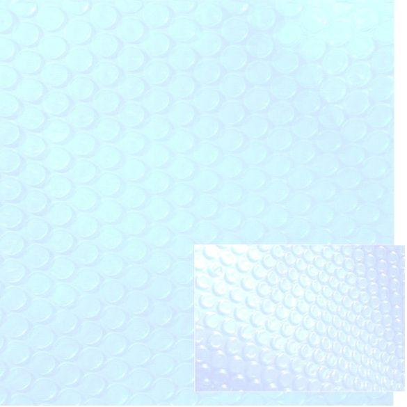 LUX 500 Crystal medence szolártakaró méretre vágható 5,0 x 10,0m