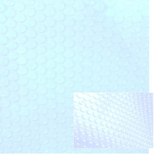 LUX 500 Crystal medence szolártakaró méretre vágható 5,5 x 11,0m
