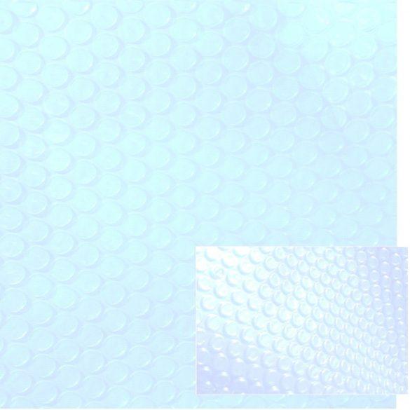 LUX 500 Crystal medence szolártakaró méretre vágható 6,0 x 12,0m