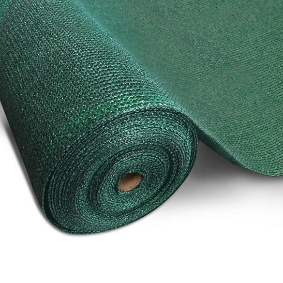 Árnyékoló háló medence fölé, kerítésre, SUPERTEX 1,5x10m zöld 99%-os takarás
