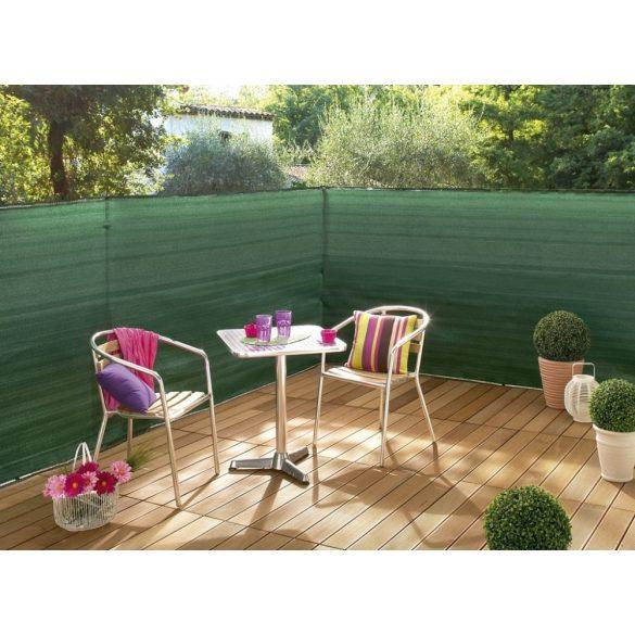 Árnyékoló háló medence fölé, kerítésre, SUPERTEX 1,8x10m zöld 99%-os takarás