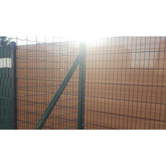 Árnyékoló háló medence fölé, kerítésre, BROWNTEX  1,5x10m barna 90%-os takarás
