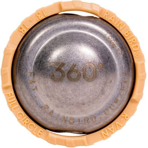 Rain Bird Rotary körbeforgó fúvóka R-VAN-18-360 - rögzített, 4,0 - 5,5 m - 360° - sárga