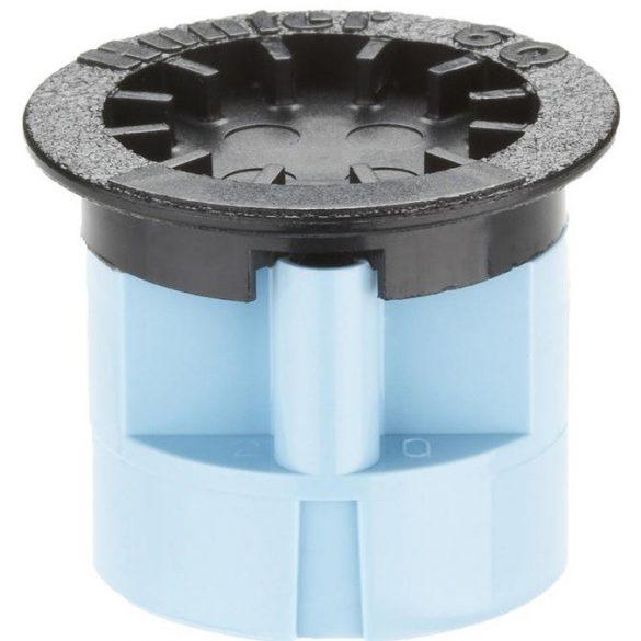 Hunter rövid sugarú mikropermetező Spray fúvóka 6Q - rögzített, 1,8 m - fix 90° - világoskék