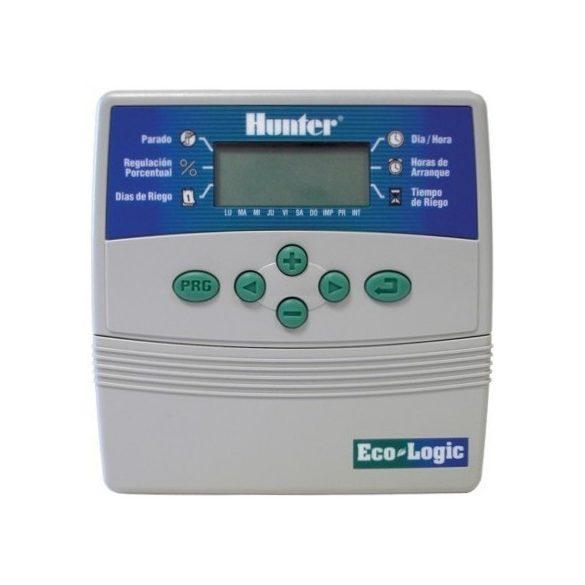 HUNTER Öntözés vezérlő ELC Eco-Logic 401i - 4 körös beltéri