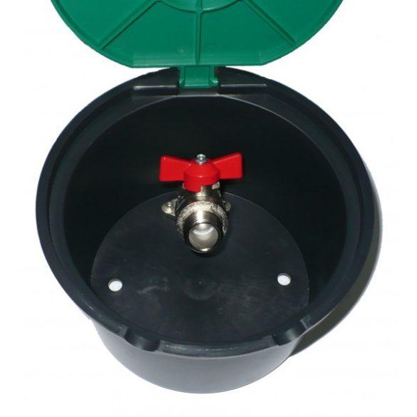 815x815mm rozsdamentes KO33 kiemelhető aknafedlap, aknatető belső vízelvezetéssel