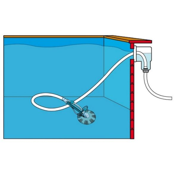 Automata medence porszívó, Pool Cleaner Auto