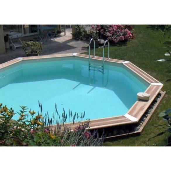 Luxus medence szett Ocea 580x130cm beige fóliával (homokszűrővel)