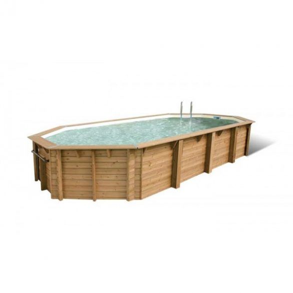 Luxus medence szett Ocea 470x860x130cm beige fóliával (homokszűrővel)