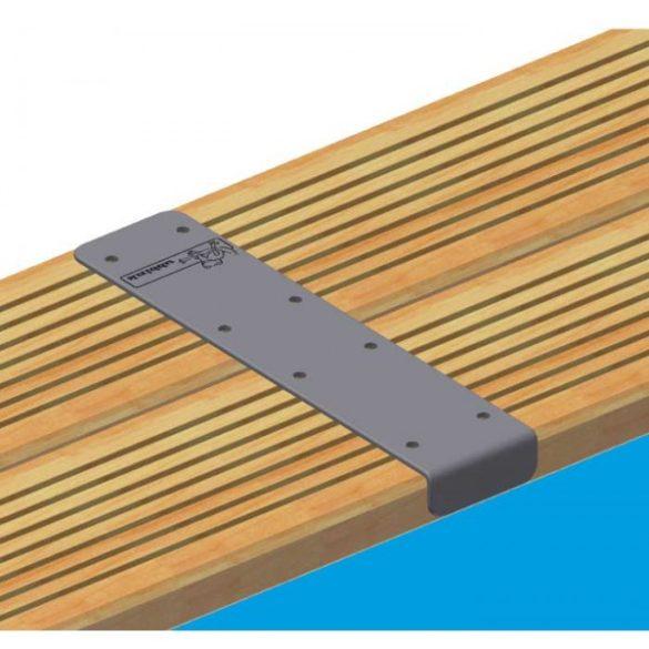 Luxus medence szett Linea 500x1100x140 cm beige fóliával (homokszűrővel)