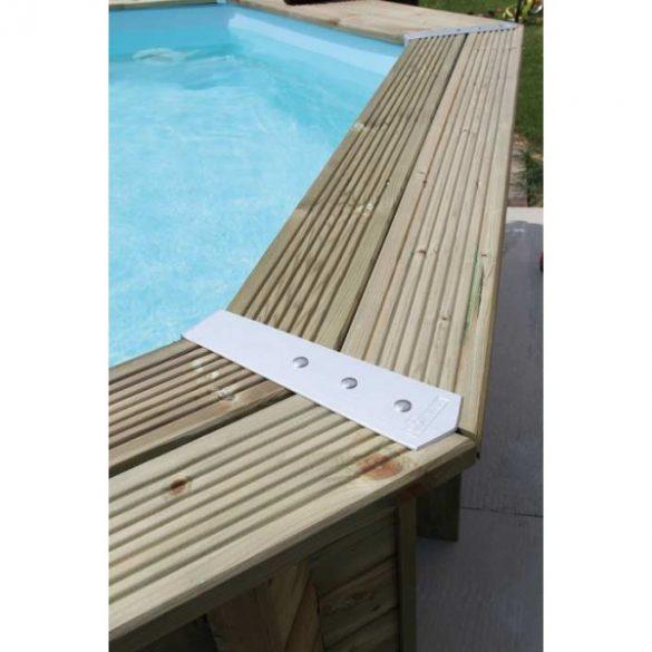 Luxus medence szett Ocea 510cmx120cm beige fóliával (homokszűrővel)