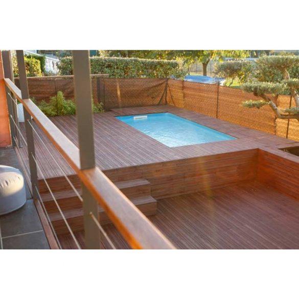 Luxus medence szett Azura 350x505x126cm beige fóliával (homokszűrővel)