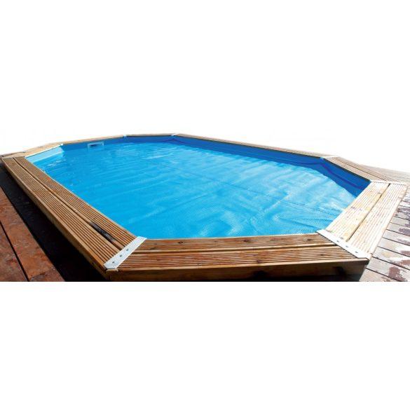Luxus szolár takaró 350x505cm méretű medencére