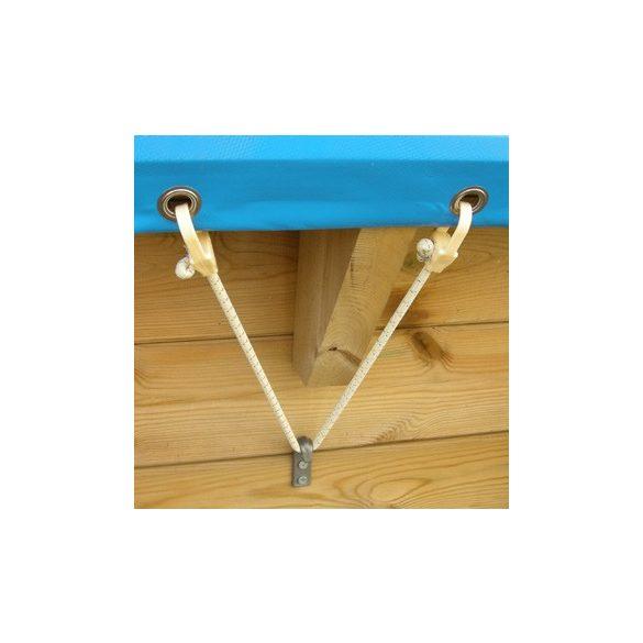 Medence takaró luxus medencére 550g 300x430 cm