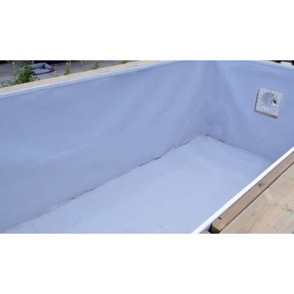 Medence aljzatvédő geotextília fehér 2x7m 200gr/m2