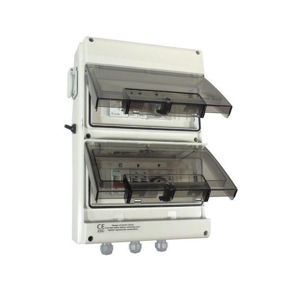 Vízálló elektromos doboz Luxus medencéhez Premium (Spot, Szűrő, hőszivattyú - IP66)