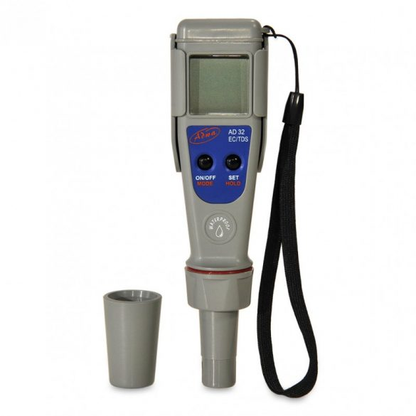 Digitális sókoncentrátum,  hőmérséklet mérő AD32 - Ajándék kalibráló oldatokkal