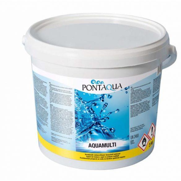 Aquamulti (200 gr) 3kg, 3in1 vízkezelő multi tabletta (AMU 030)