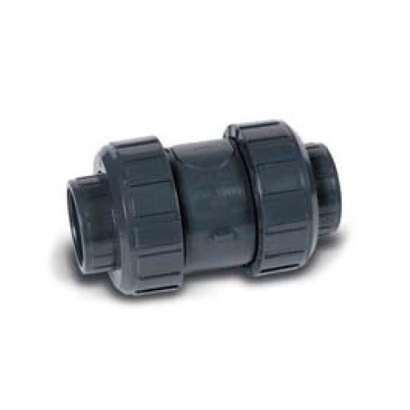 PVC idom, visszacsapószelep D50mm