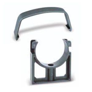 Műanyag csőbilincs, PVC nyomócsőhöz D50 mm