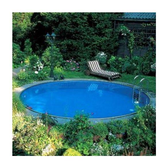 Lagoon fémpalástos medence szett, 360 x 90 cm, homokszűrővel, Wellis