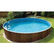 Lagoon Deluxe fémpalástos medence szett, D4,6 x 1,2 m, homokszűrővel, Wellis
