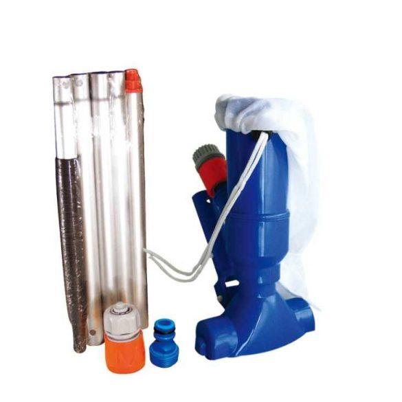 Pontaqua medenceporszívó szett, úszó vegyszeradagolóval és hőmérővel