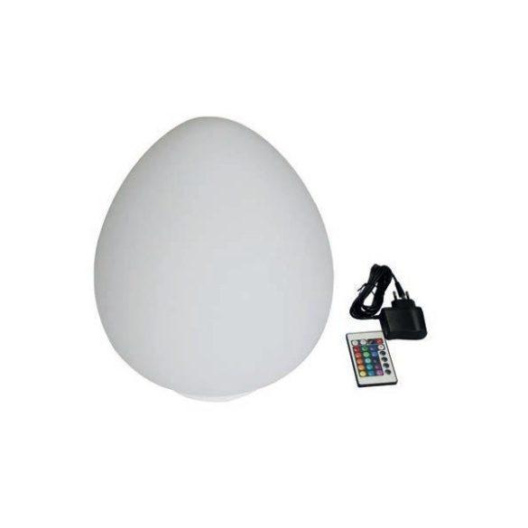 Úszó design LED lámpa, távirányítóval, tojás alakú