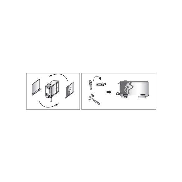 HARVIA Gőzgenerátor vezérléssel 4,5kW HGX45