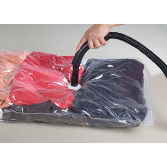 12 db vákuumos tároló zsák, 60 x 80 cm, műanyag