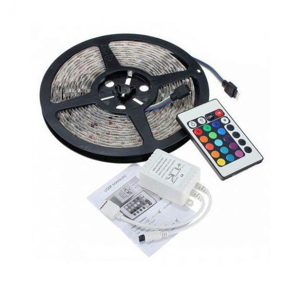 RGB5050 programozható LED szalag 5 m