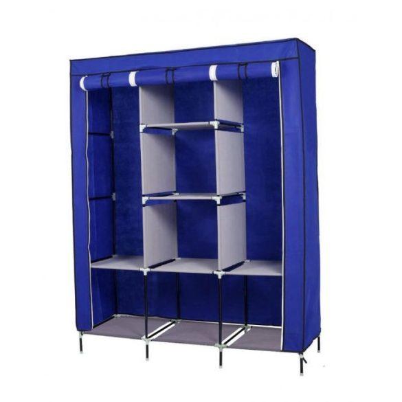 Mobil ruhás szekrény 130x45x170, kék