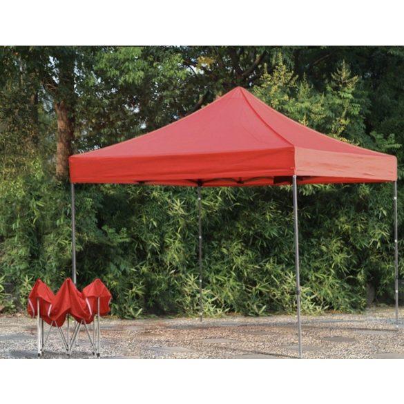 Kerti pavilon, összecsukható 3x3 m, piros