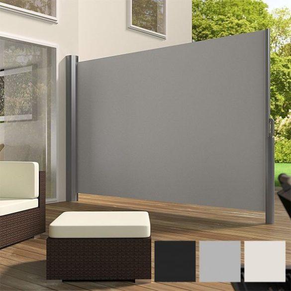 Kihúzható árnyékoló fal, 160*300 cm, szürke