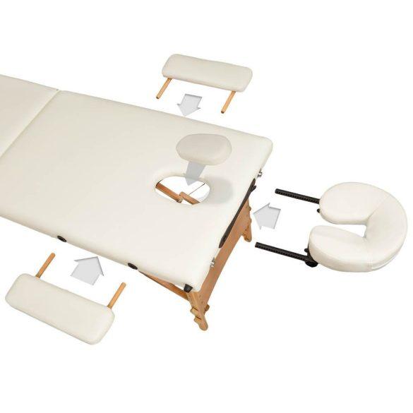 3 zónás, hordozható masszázs ágy