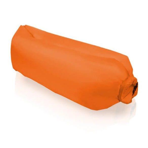 Levegővel tölthető relax ágy, narancs
