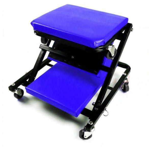Gurulós aláfekvő és szerelő szék