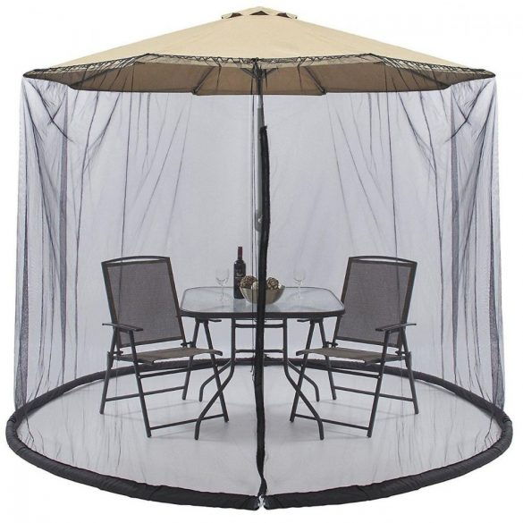 Szúnyogháló napernyőre, 2,7m átmérő
