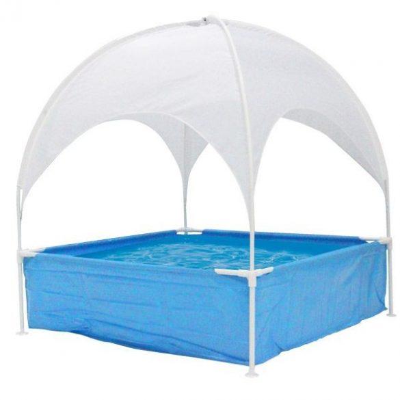 Gyerek medence árnyékolóval
