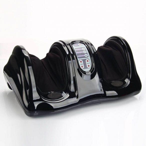 Elektromos lábmasszírozó gép, fekete