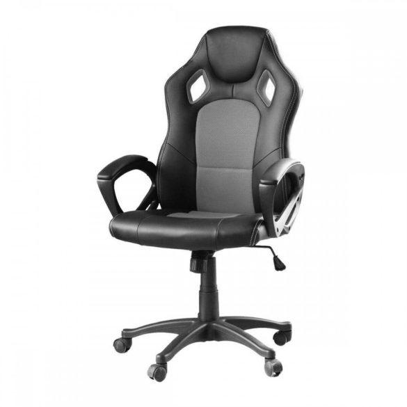 Gamer szék szürke - BASIC