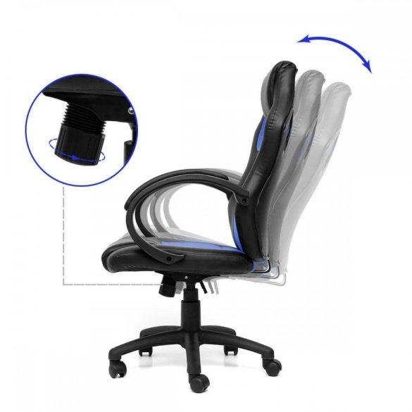 Gamer szék kék - BASIC
