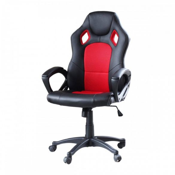 Gamer szék piros - BASIC