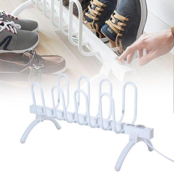Elektromos cipőszárító 4 pár cipőnek 80W