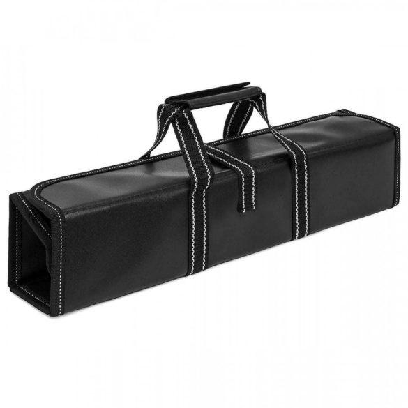 9 részes késkészlet ajándék felcsavarható táskával