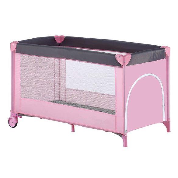 Utazó gyerek ágy BASIC, pink