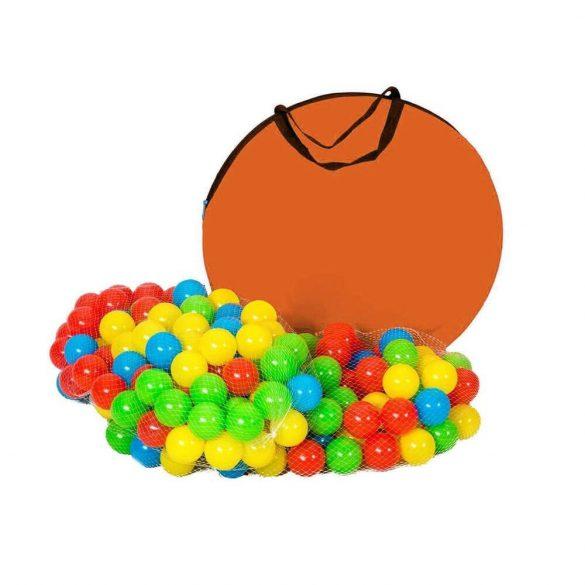 Játszósátor alagúttal 200db ajándék labdával