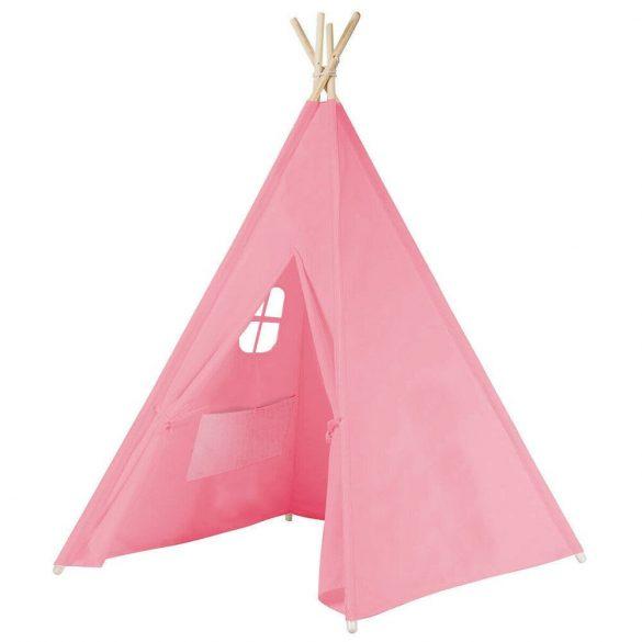 Indián sátor gyerekeknek, rózsaszín