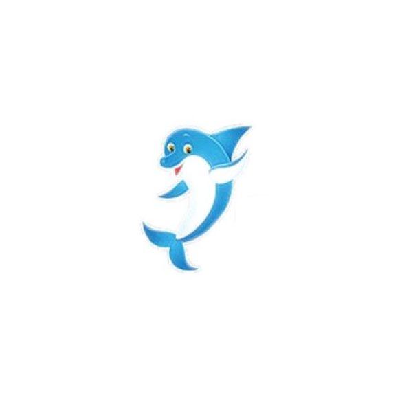 Víz alatti dekormatrica, delfin, 20 x 17 cm